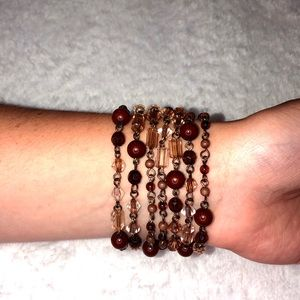 unbranded Jewelry - 💎BOGO FREE! Beautiful brown beaded necklace🤎
